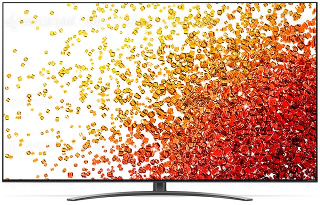 TV LED NanoCell Ultra HD 4K LG NANO91 : 100 Hz, Alpha 7 Gen 4, HDMI 2.1, HDR Dolby Vision…