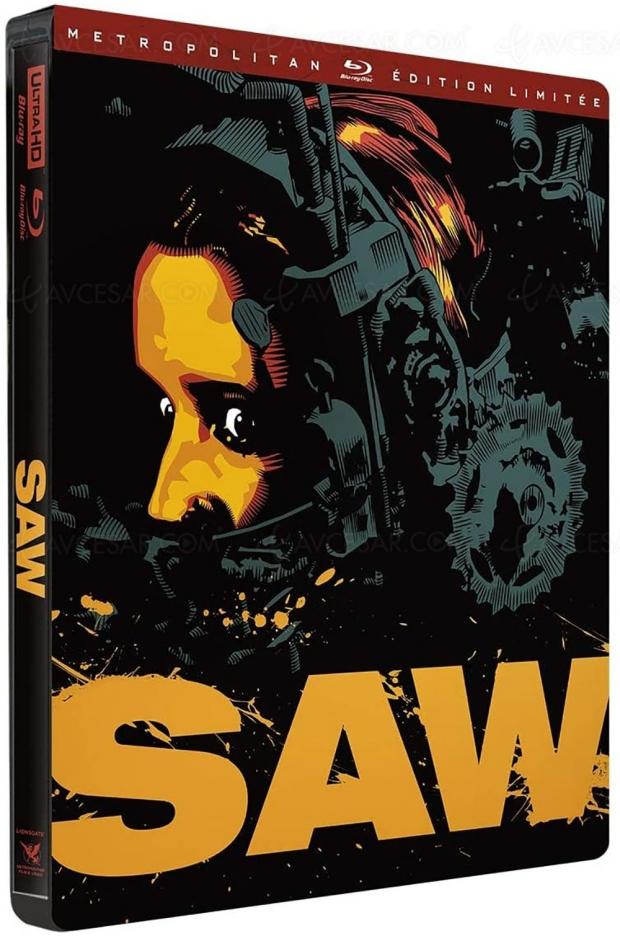 Saw Unrated, le 3 juin en 4K Ultra HD en France
