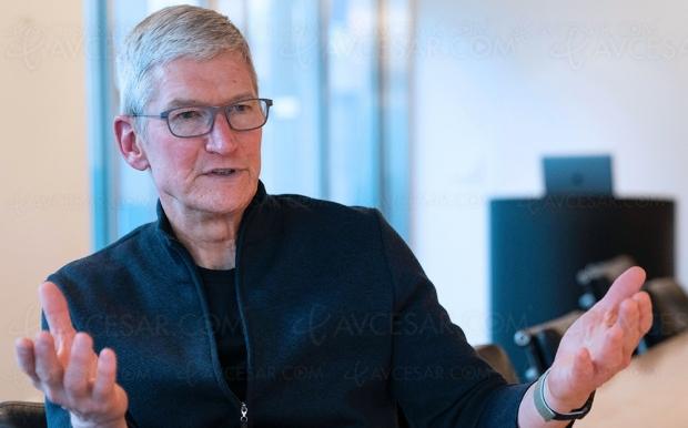 Tim Cook PDG d'Apple : « de meilleures conversations avec la réalité augmentée »