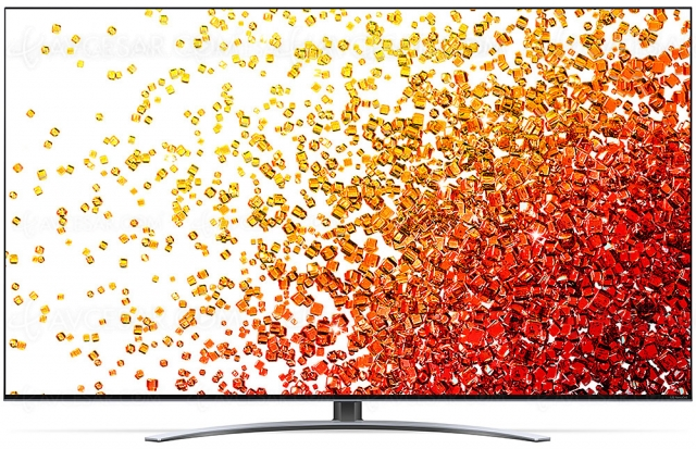 TV LED NanoCell Ultra HD 4K LG NANO92 : 100 Hz, Alpha 7 Gen 4, HDMI 2.1, HDR Dolby Vision…