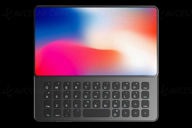 iPhone Q, avec clavier rétractable