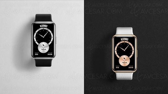 Huawei Watch Fit Elegant Edition, montre connectée statutaire pour sportifs