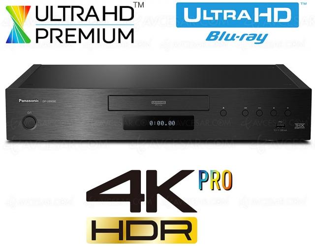 Nouveau lecteur 4K Ultra HD Blu‑Ray Panasonic ? Rien en 2021 ou presque…