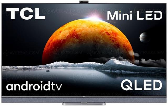 TCL C825, TV Mini LED QLED Ultra HD 4K et HDMI 2.1 : mise à jour disponibilité et prix