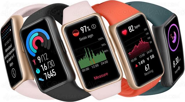 Huawei Band 6, bracelet connecté santé et sport