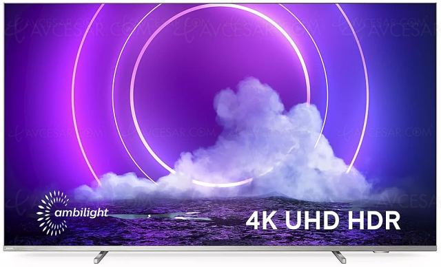 TV LED Philips PUS9206, mise à jour prix et disponibilité