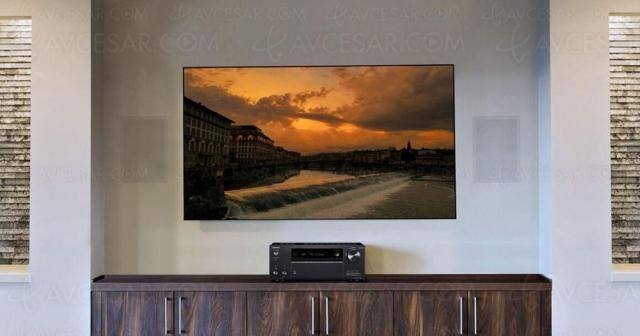 Onkyo TX‑NR7100, ampli 9.2, Dirac Live, HDMI 2.1, 8K, Dolby Atmos 7.2.2, HDR Dolby Vision, HDR10+, AirPlay 2, DTS Play‑Fi…