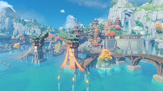 Genshin Impact, RPG gratuit en 4K sur PlayStation 5