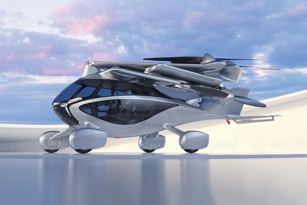 eASKA, découvrez la première voiture volante grand public