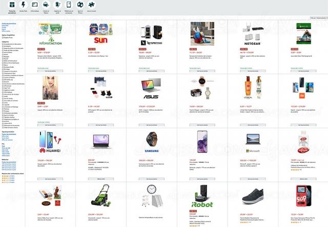 Amazon, +6 900 ventes flash et 620 coffrets 4K Ultra HD, Blu‑Ray et DVD