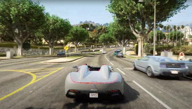 GTA V modifié avec textures 4K et Ray Tracing, vidéo folle