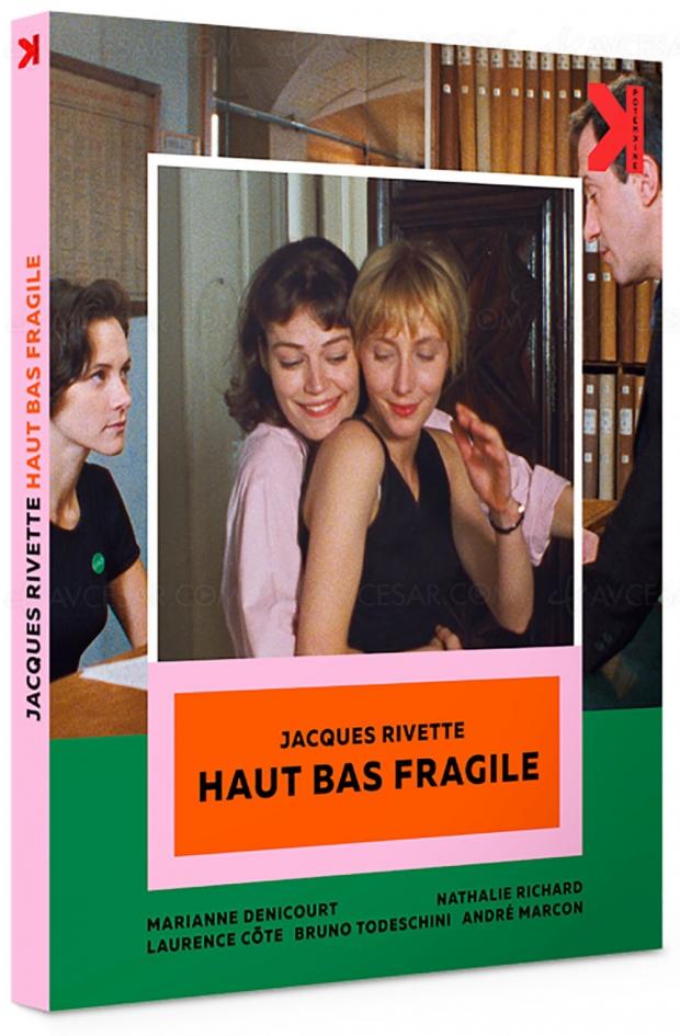 Haut bas fragile, un des plus beaux films de Jacques Rivette remasterisé en 4K