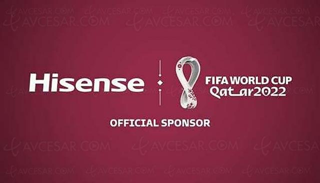 Hisense sponsor officiel de la Coupe du Monde Fifa 2022