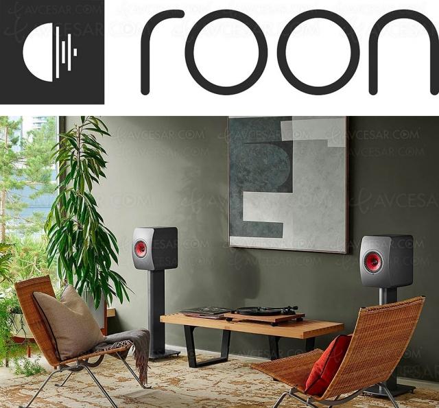 Enceintes Kef LS50 Wireless II certifiées Roon Ready