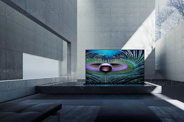 TV LED Ultra HD 8K Sony Z9J Master Series : mise à jour prix indicatifs