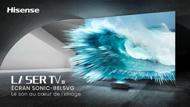 Concours Hisense/AVCesar.com, tentez de gagner un Laser TV Hisense 88L5VG (224 cm)