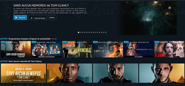 175 millions d'abonnés Amazon Prime ont profité d'Amazon Prime Video en 2020