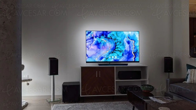 Bandeau lumineux LED LX1 certifié ISF pour limiter la fatigue oculaire devant le TV