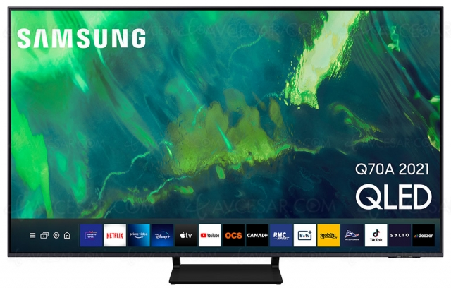 TV QLED Ultra HD 4K Samsung Q70A : 55