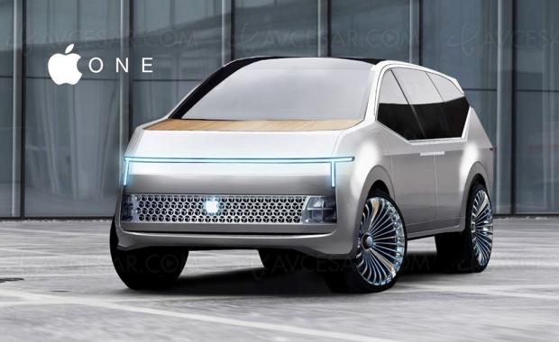 Apple One, concept pour la future voiture d'Apple