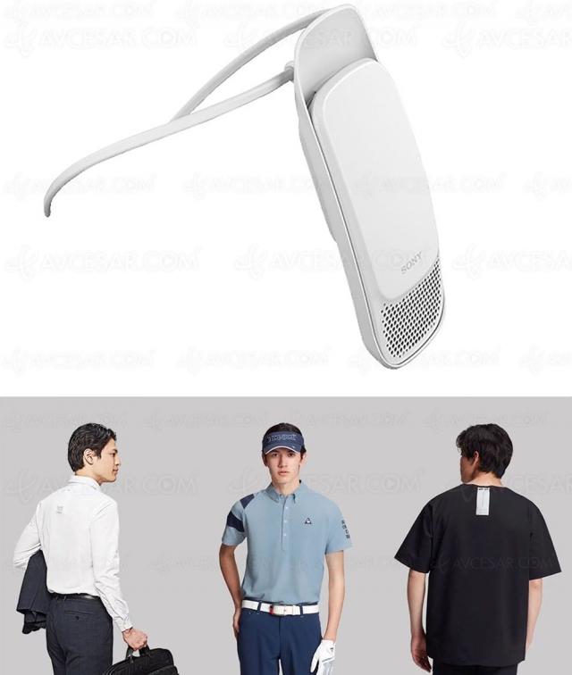 Sony Reon 2 : une clim (améliorée) dans le T‑shirt