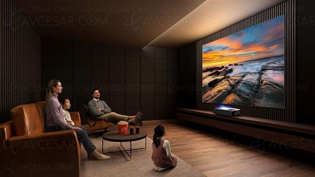 Laser TV Hisense 120L5F Ultra HD 4K : écran 120'', Dolby Atmos, Alexa…