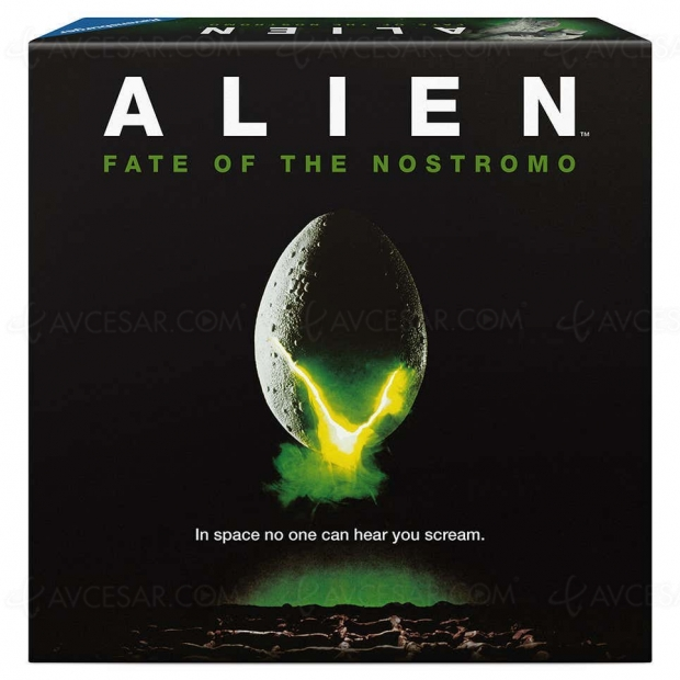 Jeu de plateau Alien : survie entre amis à l'apéro