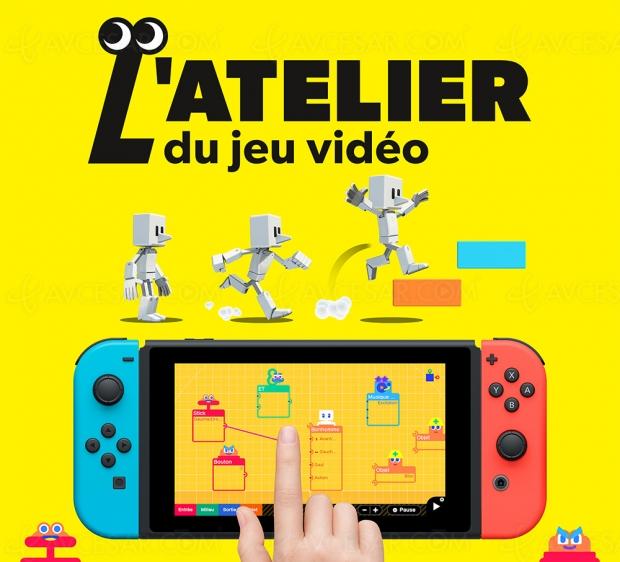 L'atelier du jeu vidéo sur Nintendo Switch : faites vos jeux !