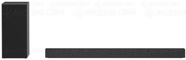 LG SP7 : barre de son 5.1 design, 440 W et Bluetooth