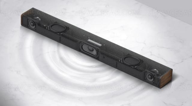 LG SP2, barre de son 2.1, 100 W et Bluetooth