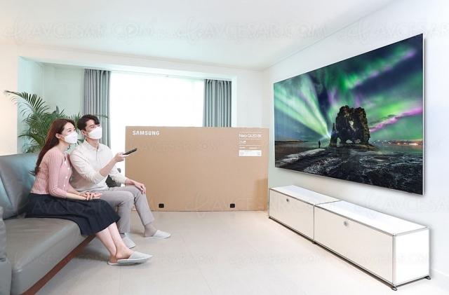 TV QLED, ventes 2021 record pour Samsung
