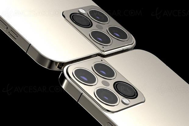 Concept iPhone 13 Pro, puce M1 et encoche « disparue »