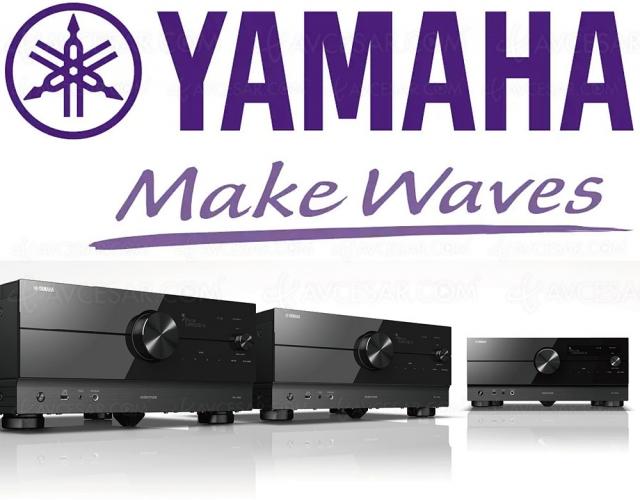Yamaha RX‑A4A/RX‑A6A/RX‑A8A : nouveaux amplis 8K/60 et 4K/120, et HDMI 2.1 sans bug