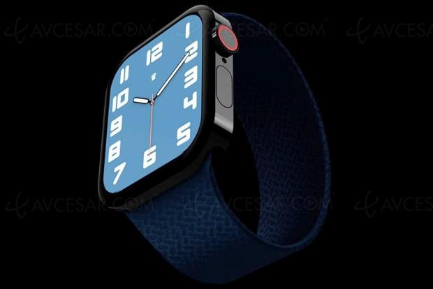 Apple Watch Series 7 : nouveau design façon iPhone 12 ?