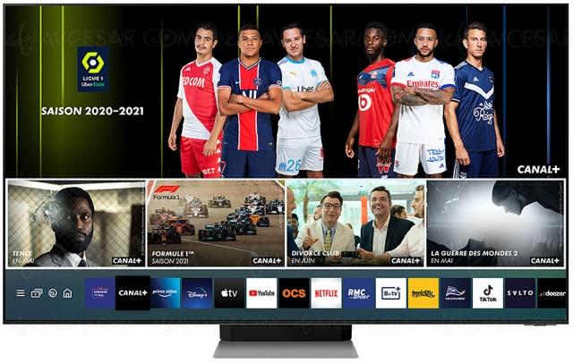 Nouvelle application Canal+ sur Smart TV Samsung