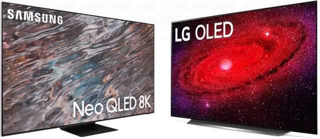 Marché TV : LG en forte hausse et chiffres records pour Samsung