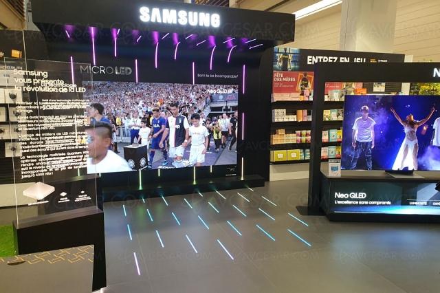 TV Micro LED Samsung 99MS1A/110MS1A : modèles 99'' et 110'' disponibles à la vente
