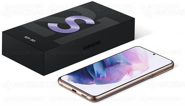 Test smartphone Samsung Galaxy S21+, en ligne