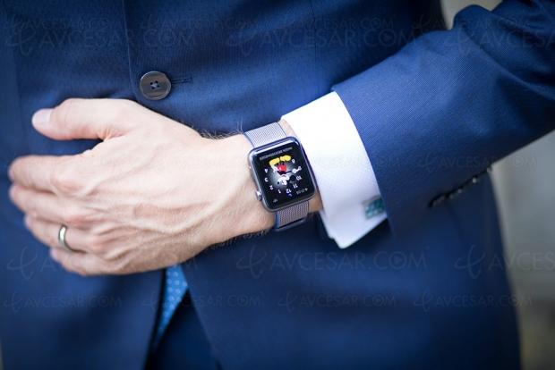 Apple toujours leader du marché smartwatch, mais attention à Samsung