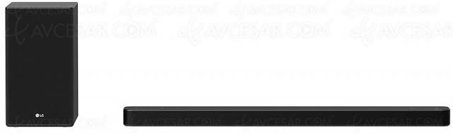LG SP8 : barre de son 3.1.2, Dolby Atmos/DTS:X, 440 W, Bluetooth et HDMI 2.1