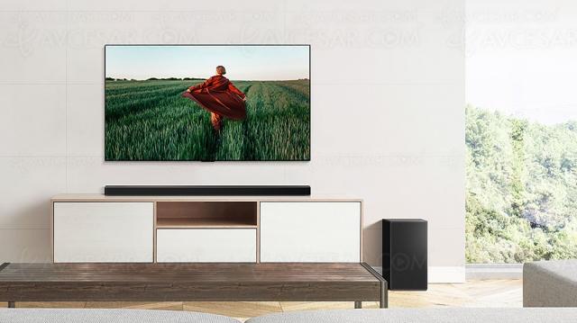 LG SP9 : barre de son 5.1.2, Dolby Atmos/DTS:X, 520 W, Bluetooth et HDMI 2.1