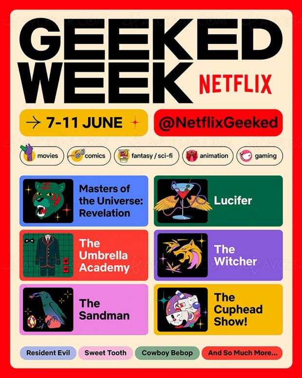 Geeked Week : où voir le Comic-Con virtuel de Netflix à partir du 7 juin ?