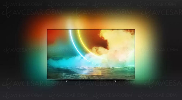 TV Oled Ultra HD 4K Philips OLED705, série TV premier prix