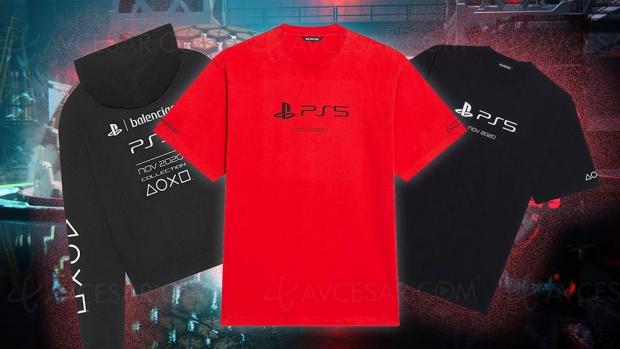 Le T-shirt PS5… plus cher qu'une PS5 !