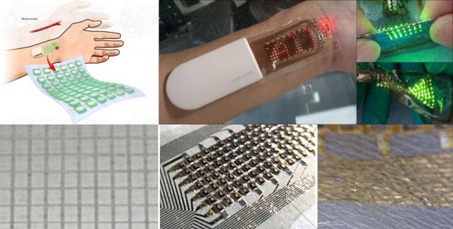 Samsung développe un écran Oled élastique