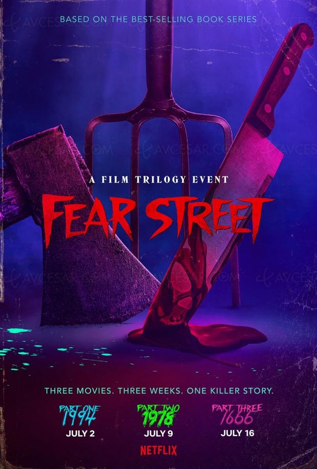 Fear Street, nouvelle bande-annonce de la trilogie d'horreur pour Netflix