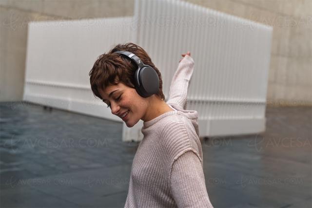 Sennheiser HD 450SE, casque Bluetooth APT‑X à réduction de bruit active