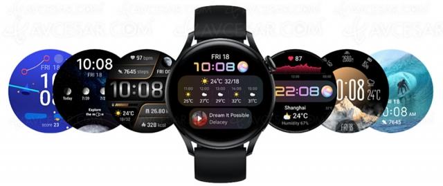 Huawei Watch 3 et Watch 3 Pro, nouvelles montres connectées