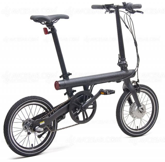 Bon plan vélo pliable électrique Xiaomi Mi Smart 250 W à 799,99 €, soit ‑20% de remise