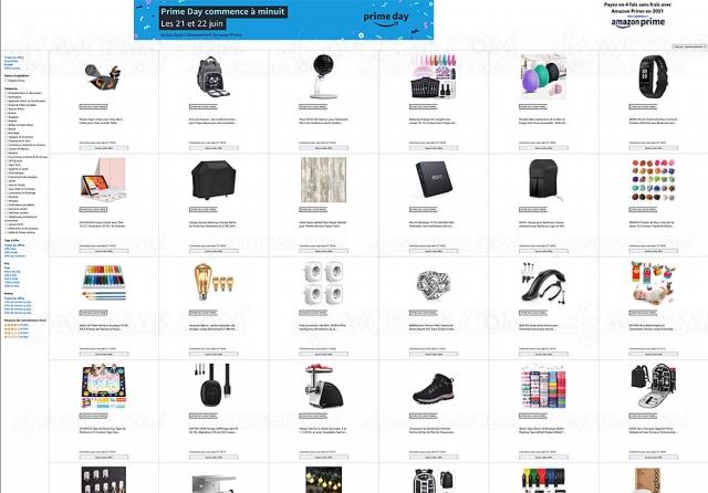 Amazon Prime Day, 4980 offres à prix cassé